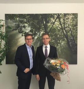 Tobias Brokop (GSU) und Ralf-Dieter Hellmers